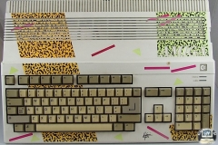 Commodore Amiga 500 Colored