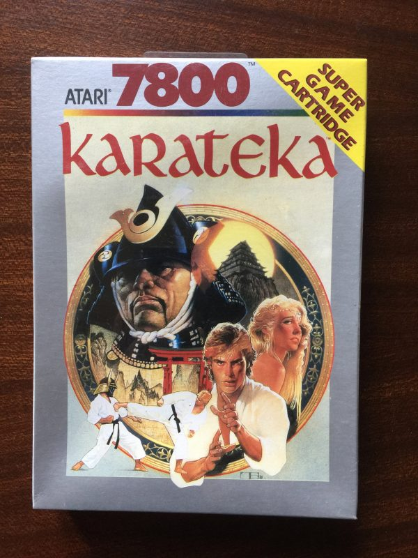Karateka - Atari 7800 - CX7822 - PAL