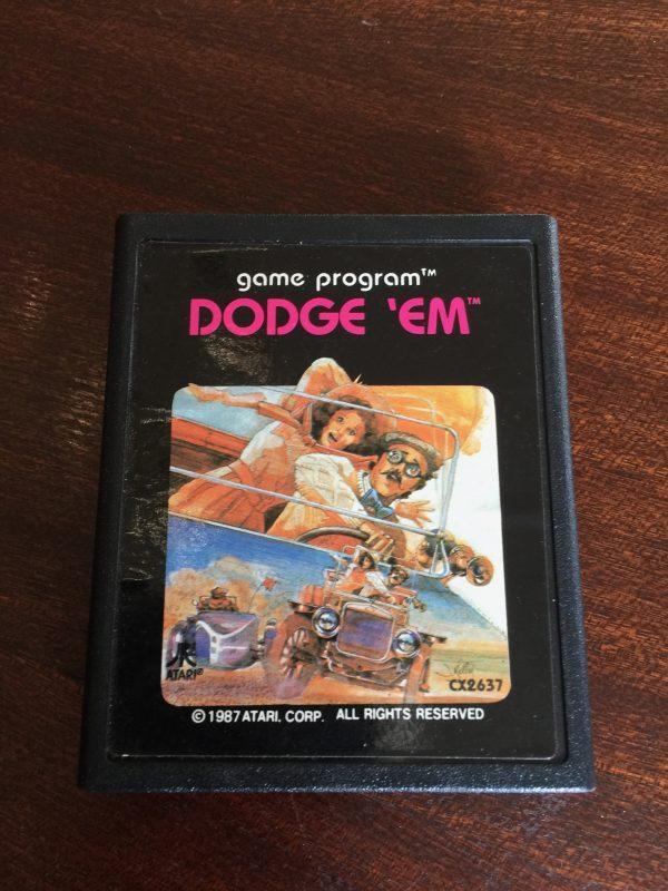 Dodge 'Em - Atari 2600 - CX2637 - PAL