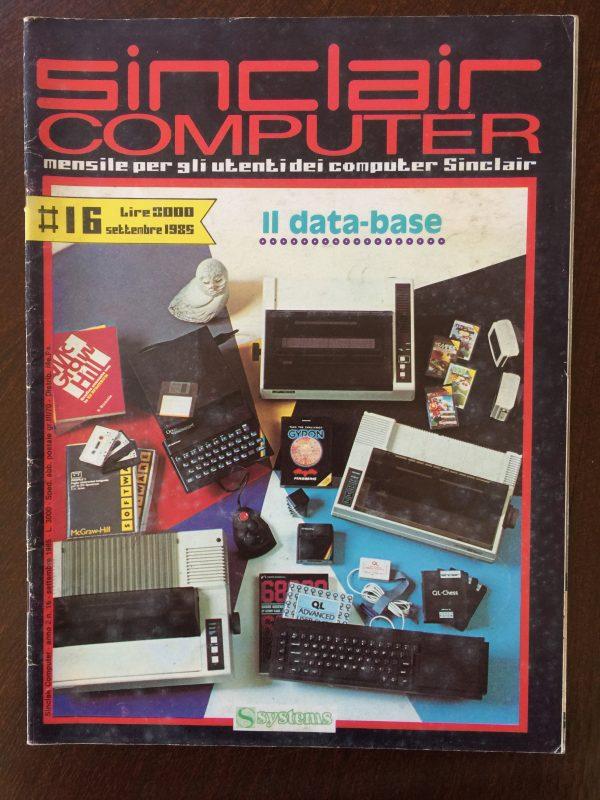 Sinclair Computer n.16 settembre 1985